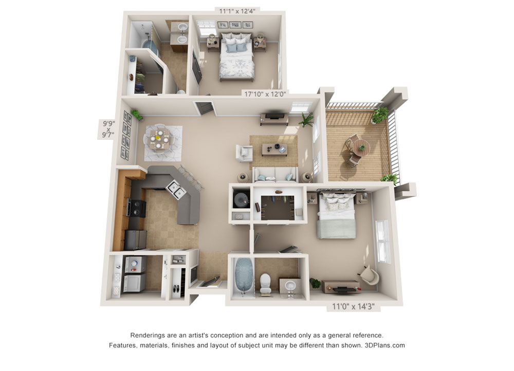 The Classic 2 Bedroom Apartment Huntsville Al Uah Oakwood A M