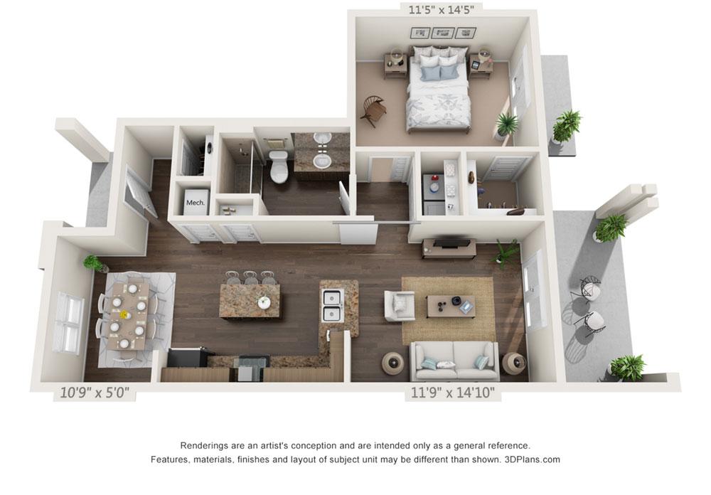 Double Porch Suite